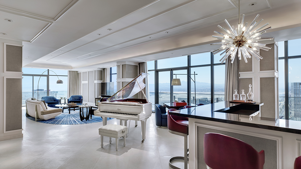 Cosmopolitan of Las Vegas interior of Boulevard Penthouse