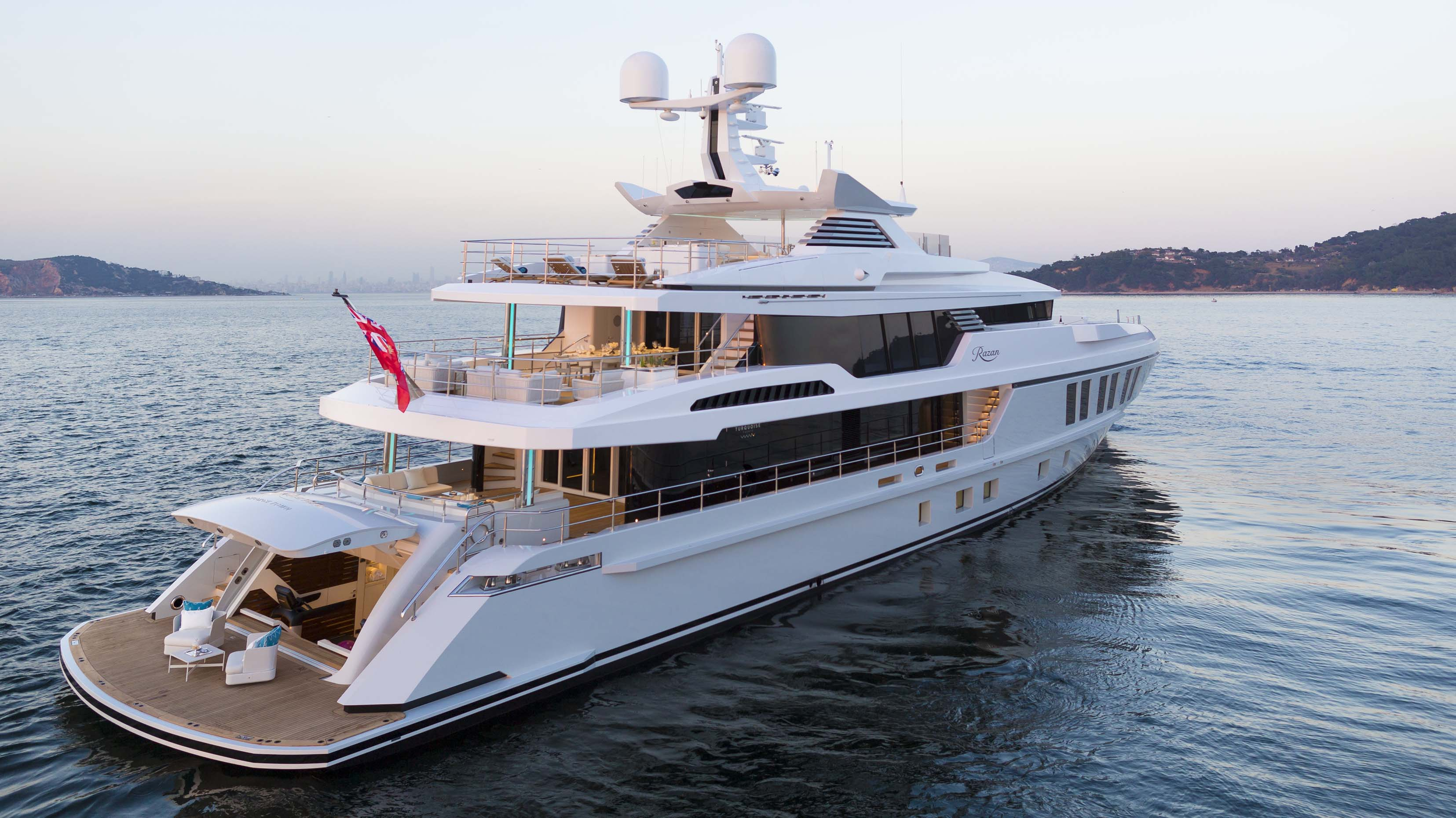 Turquoise Yachts Razan Superyacht