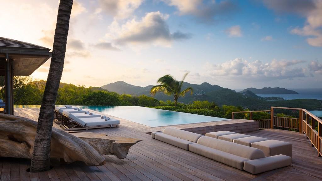 Eden Rock resort's Villa Ixfalia in St. Barth, Caribbean
