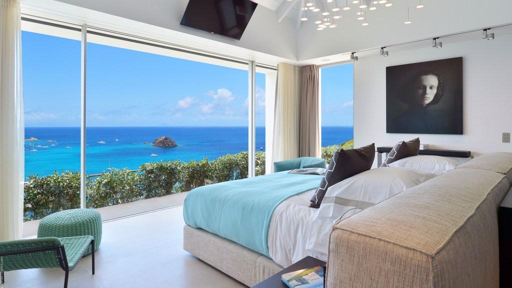 Eden Rock resort's Villa Utopic in St. Barth, Caribbean