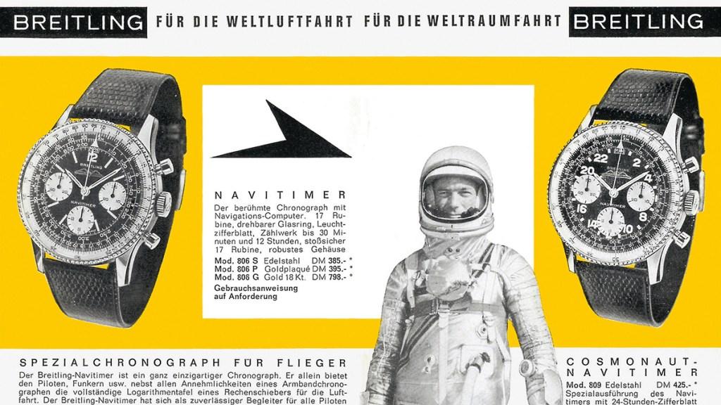 Vintage Breitling Advertisement
