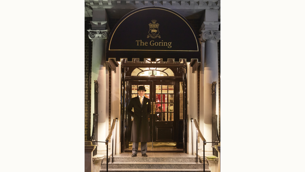 The Goring in London exterior of hotel