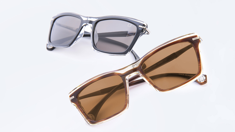 Picture of WEBSTER Duo (Black & Brown Horn Suns) eyeglasses