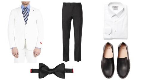 menswear wedding attire