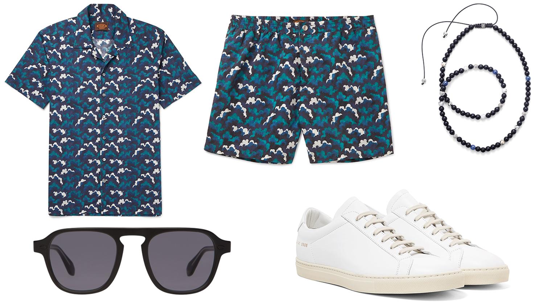 menswear weekend getaway attire