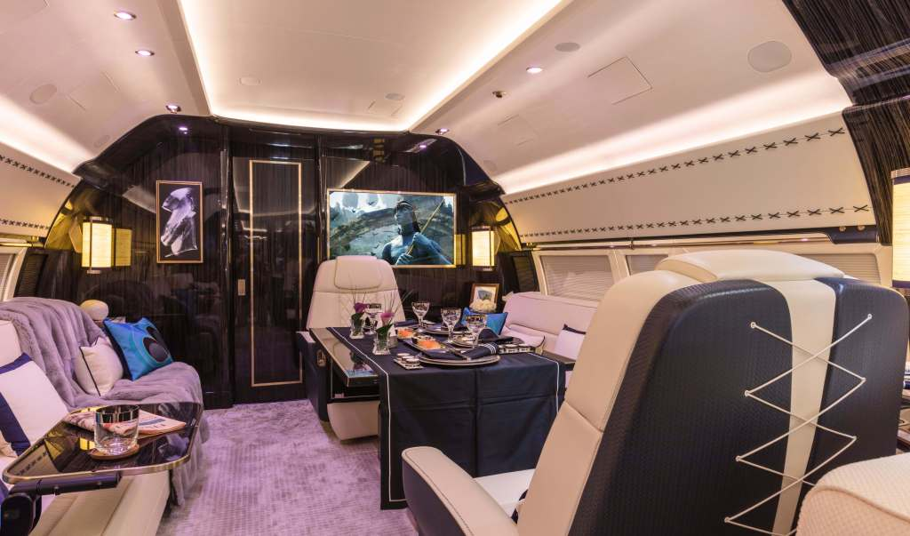 Winch Design BBJ-1 Boeing Business Jet Custom Interior
