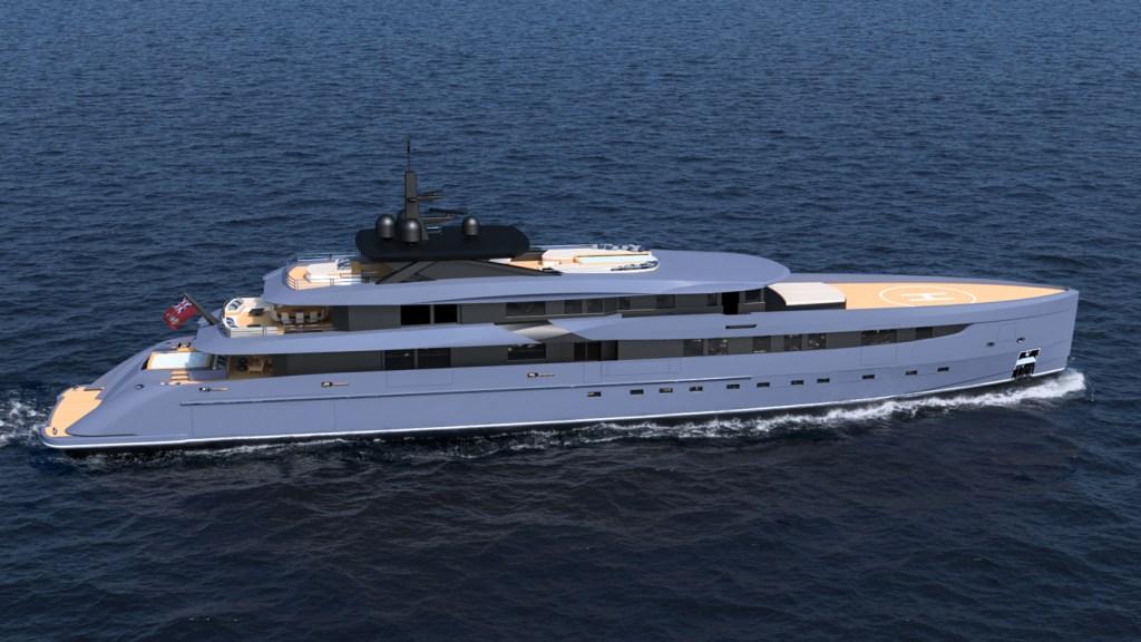 F65 Concept Yacht