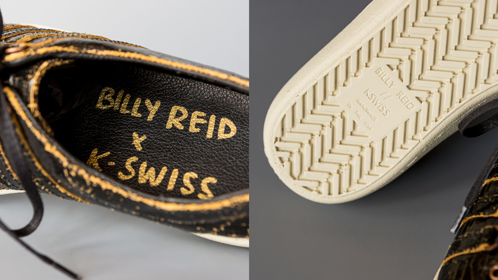 Limited-edition series sneakers.