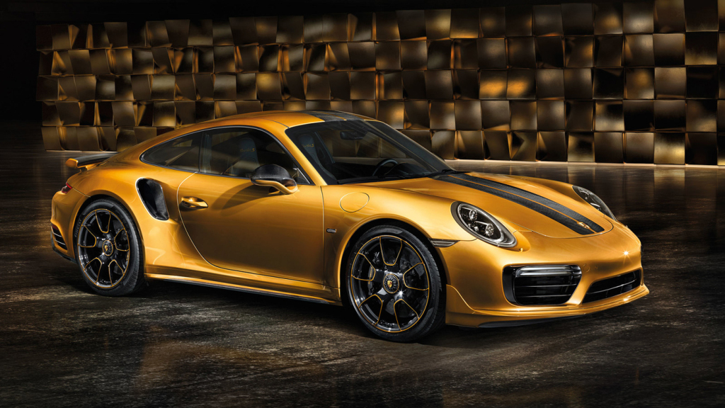 The 2018 Porsche 911 Turbo S Exclusive Series Coupe