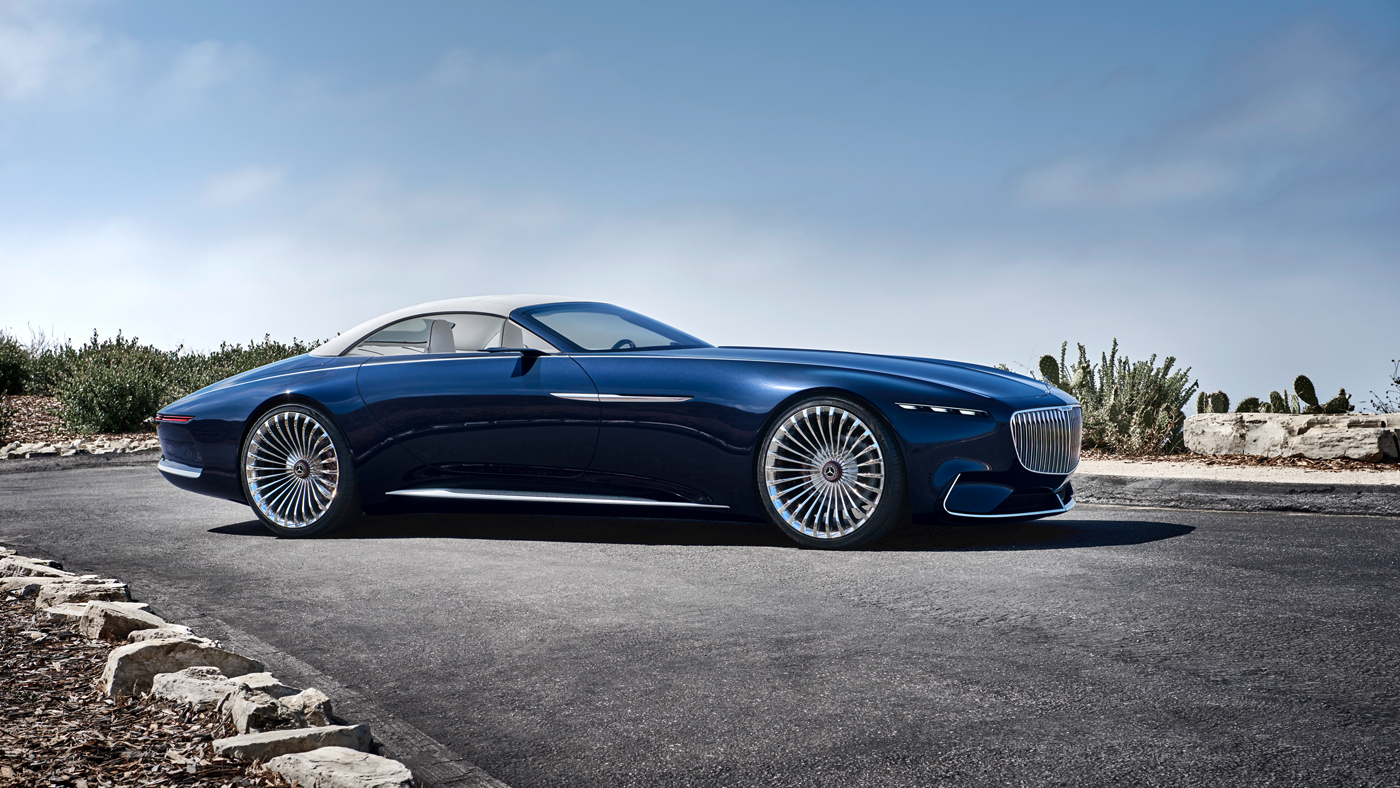 The Vision Mercedes-Maybach 6 Cabriolet Concept.