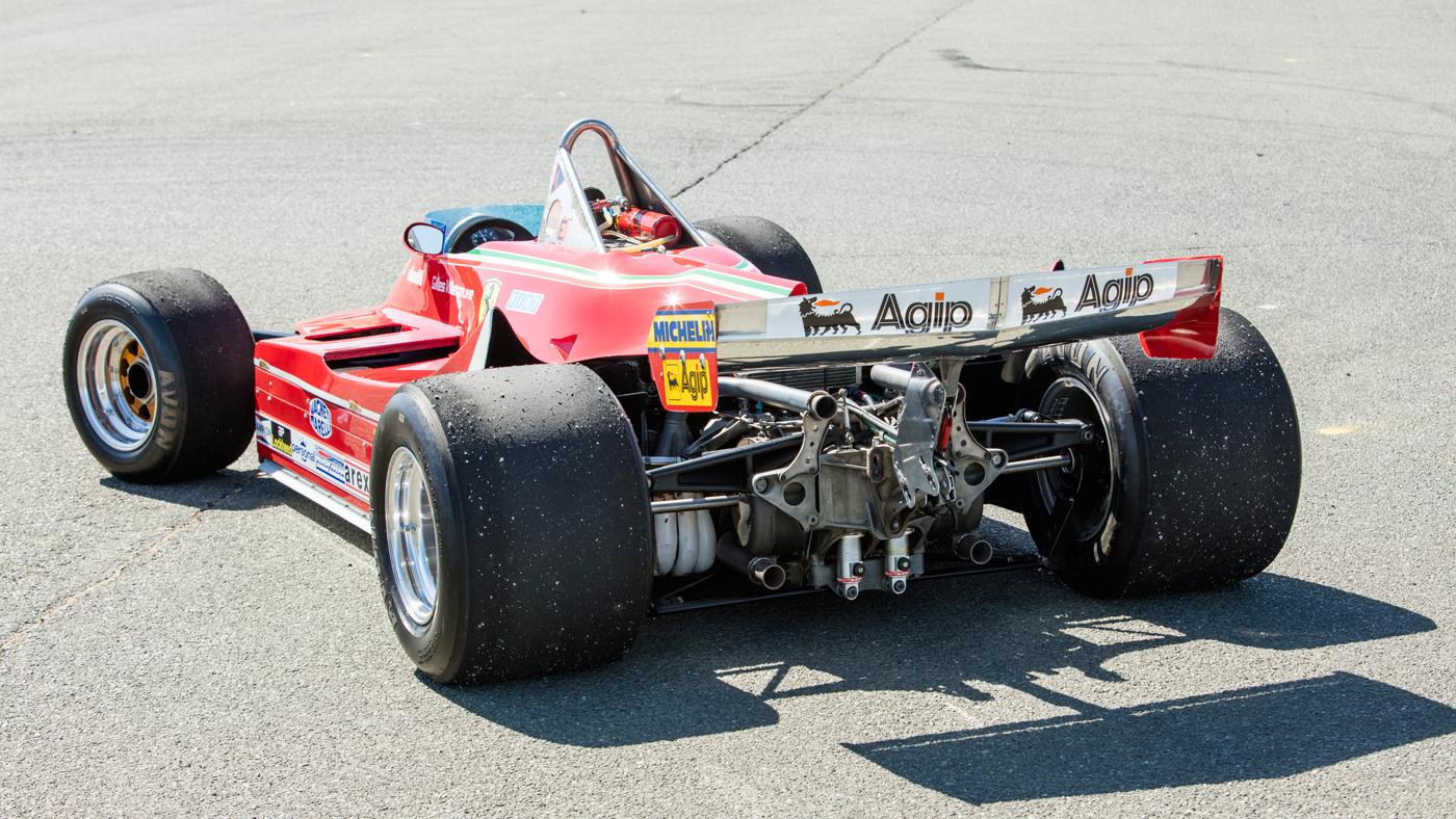 A photo of a 1980 Ferrari 312 T5 Single-Seater Formula 1 racecar driven by Jody Scheckter.