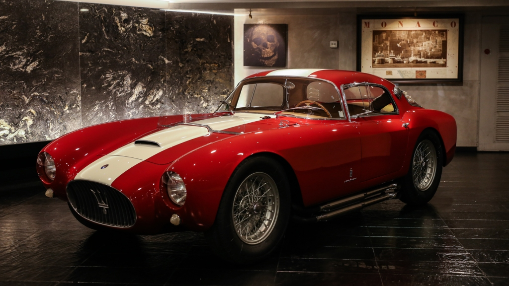 This year's winner of the Peninsula Classics Best of the Best Award, a 1954 Maserati A6GCS/53 Berlinetta, bodied by Pinin Farina.