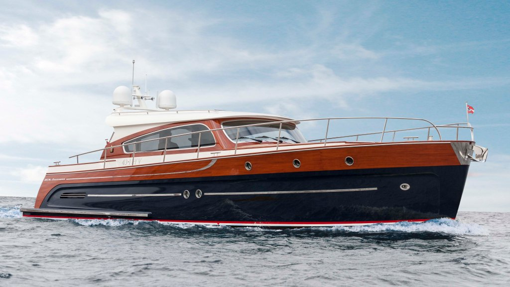 Breedendam Yachts' MTB fourzero Wheelhouse yacht boat