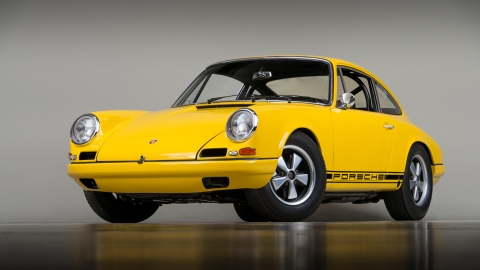 The 1967 Porsche 911 R restored by the team at Canepa.
