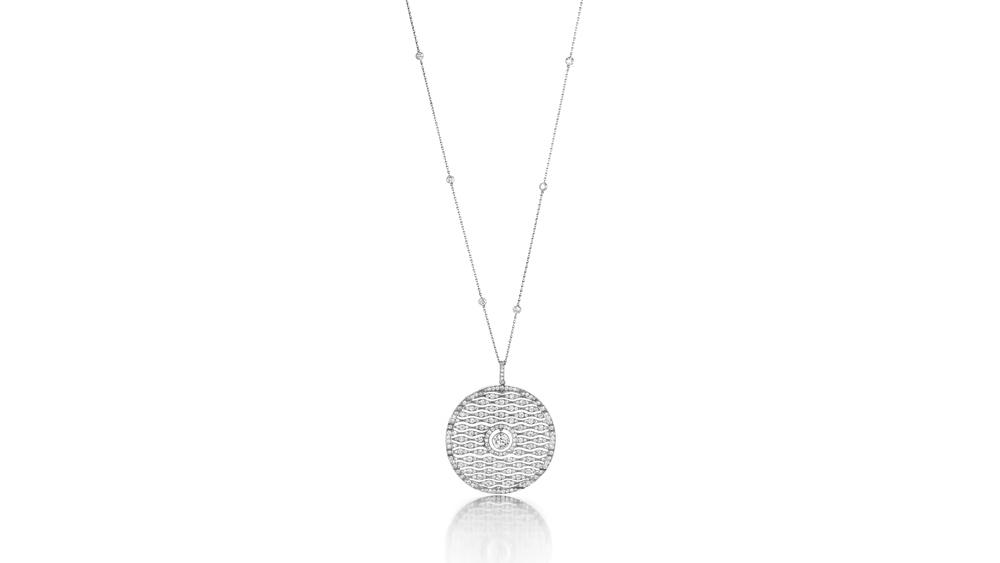 Cartier diamond-covered pendant