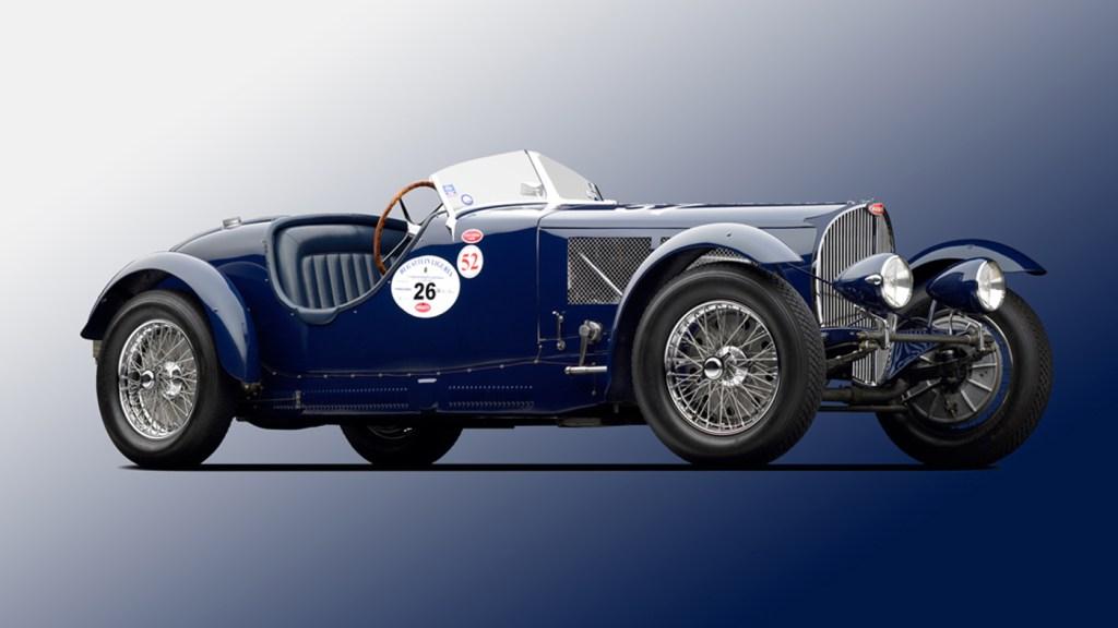 Peter Mullin's 1936 Bugatti Type 57SC Competition Roadster.