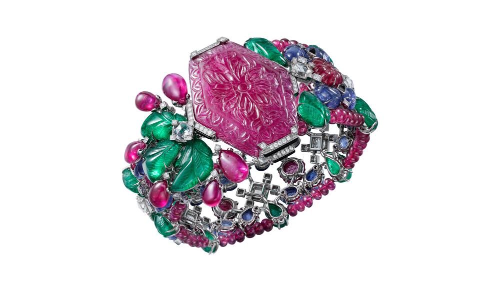 Résonances de Cartier Tutti Frutti bracelet