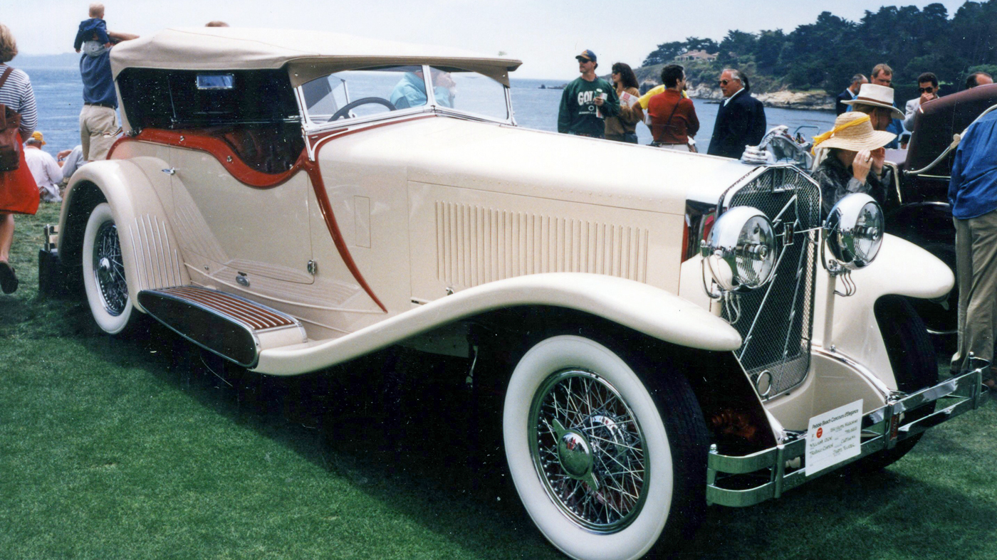 The 1930 Isotta Fraschini Tipo 8A SS Castagna Special Sports Tourer that was named Best of Show in 1983 at the Pebble Beach Concours.