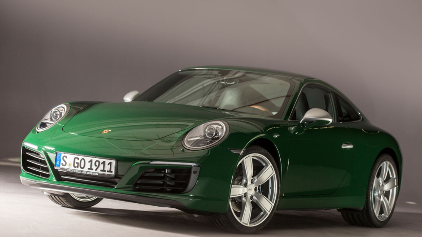 The one-millionth 911 from Porsche is a rear-wheel-drive Carrera S.