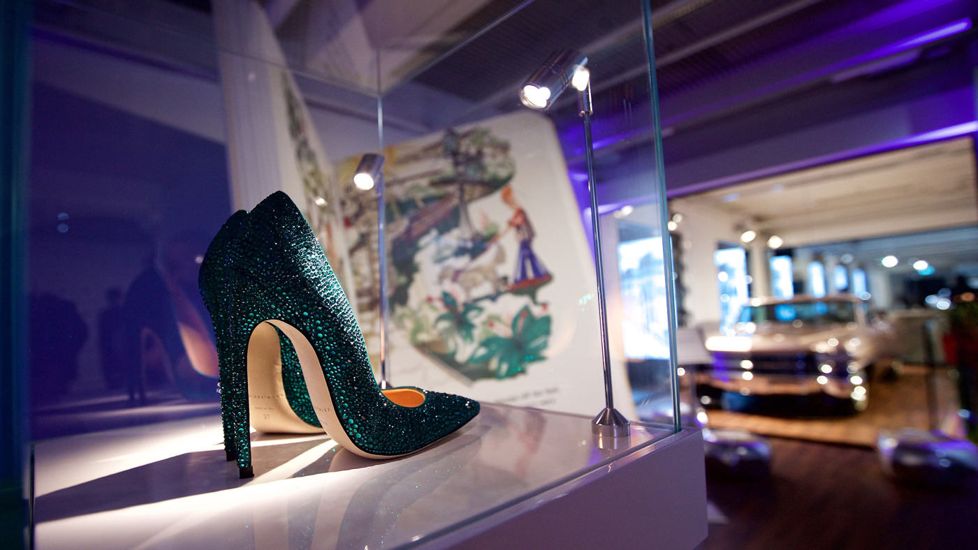 """Andy Warhol's work entitled """"Shoes."""""""