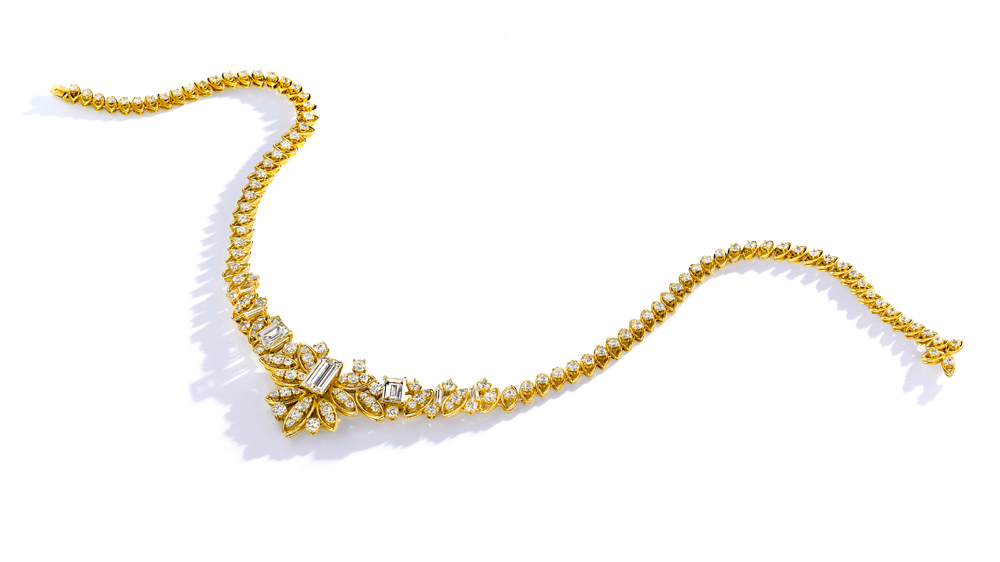 Cartier yellow-gold necklace