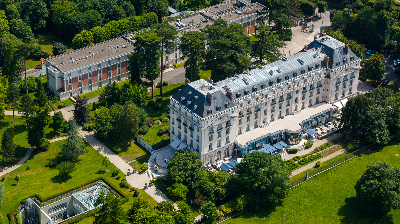 Waldorf Astoria's Trianon Palace Versailles in France.