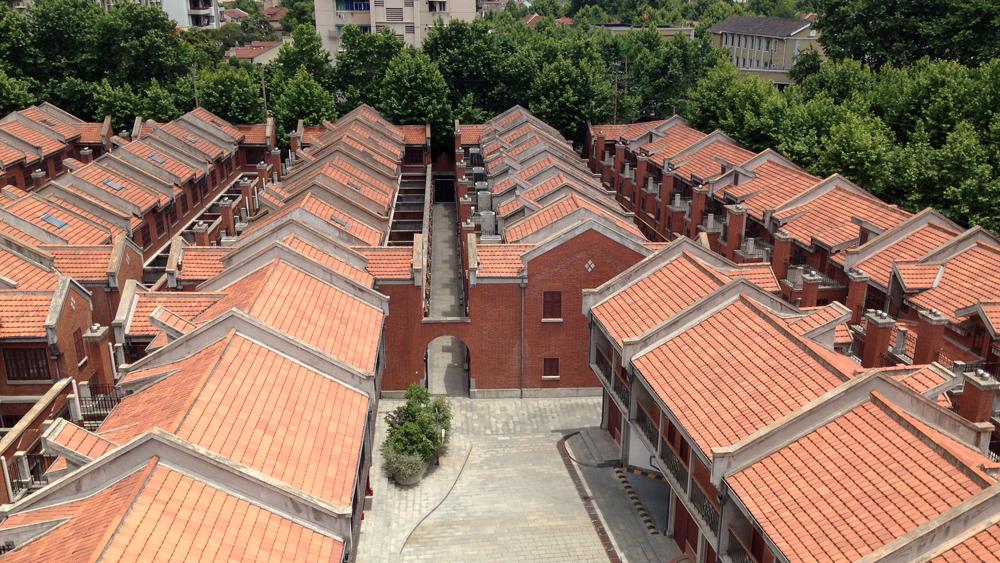Capella Shanghai hotel aerial view