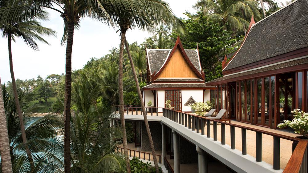 Amanpuri Villa exterior of resort.
