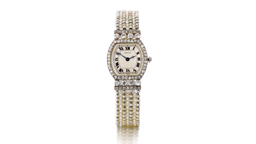 Watch from the belle époque period