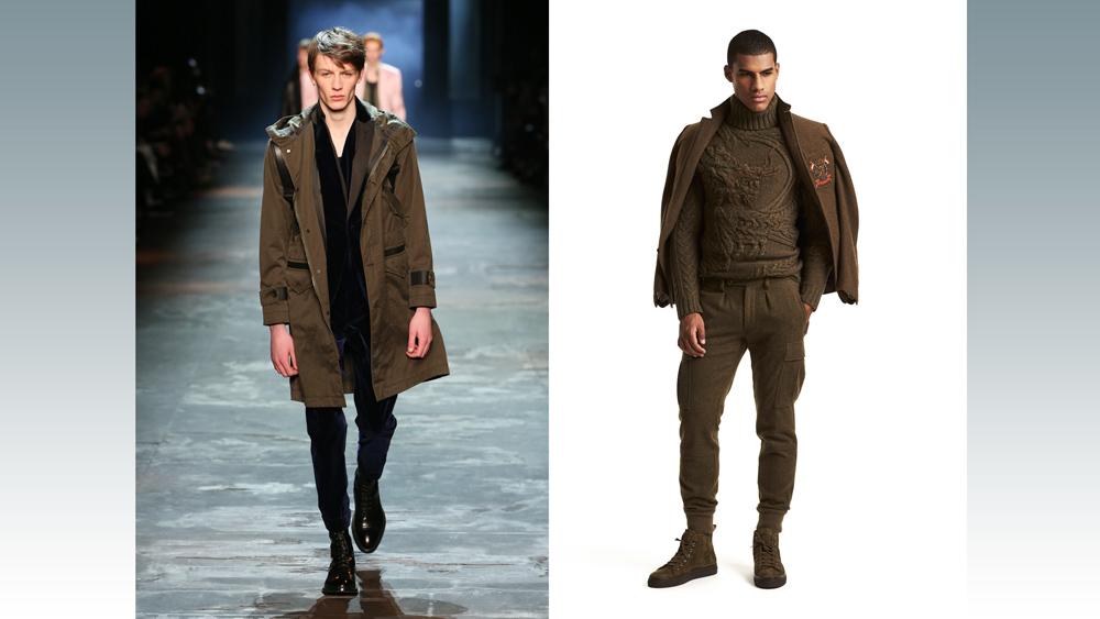 Berluti and Ralph Lauren Military Looks