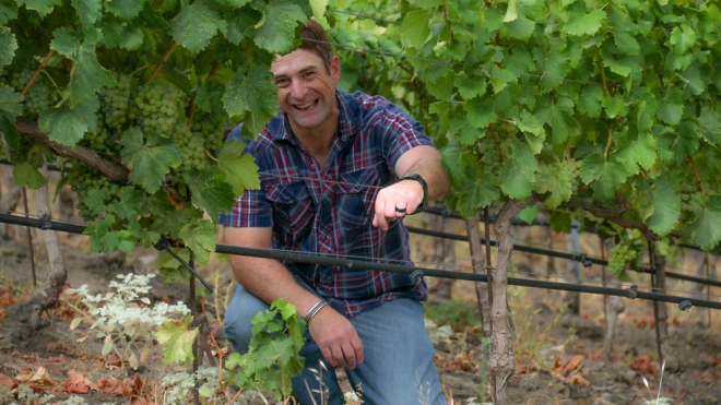 Roscoe Wine Company's David Haskell portrait.