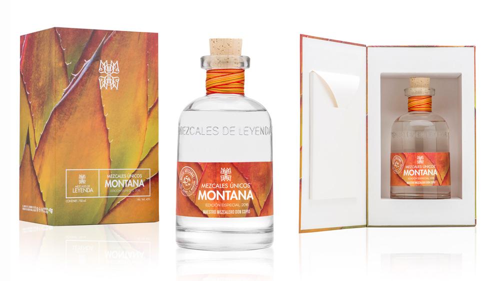 Mezcales Únicos bottle and case.