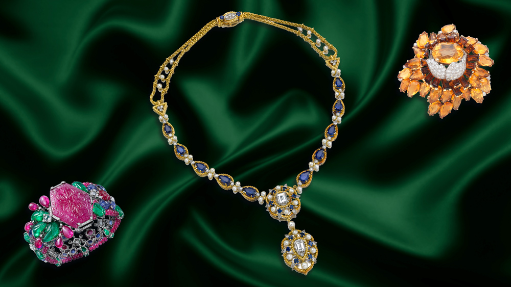 Cartier jewelry collage