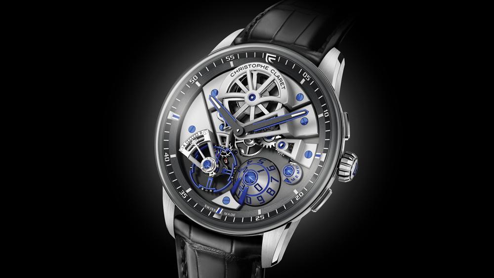 christophe claret watch maestro 42 mm