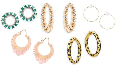 6 Classically Cool Hoop Earrings
