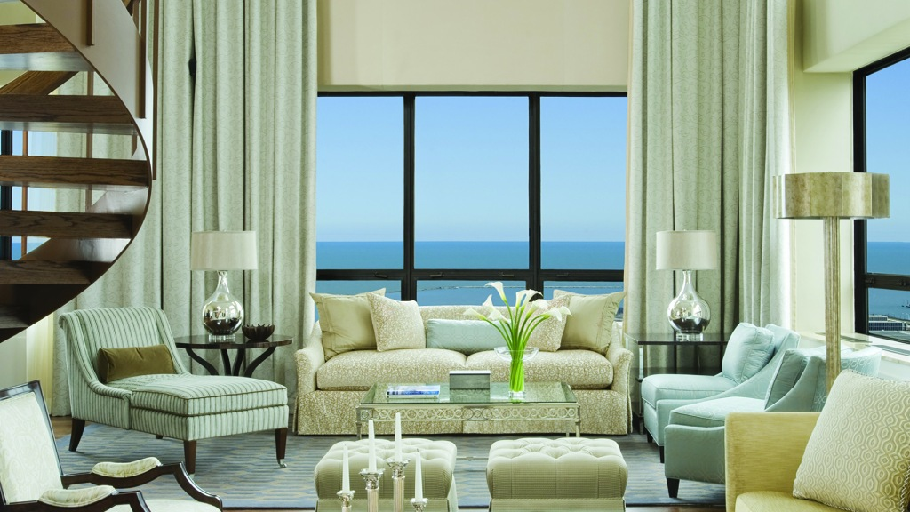 The Presidential Suite at Ritz-Carlton, Chicago