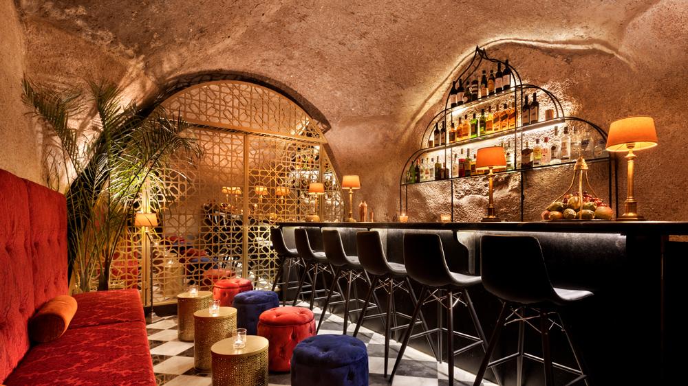 Cave Bar at Villa Brown Jerusalem.