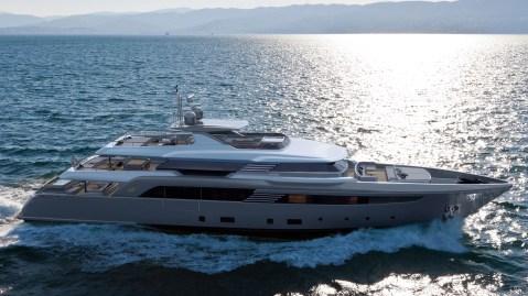 CRN Superconero 50m yacht Italian superyacht