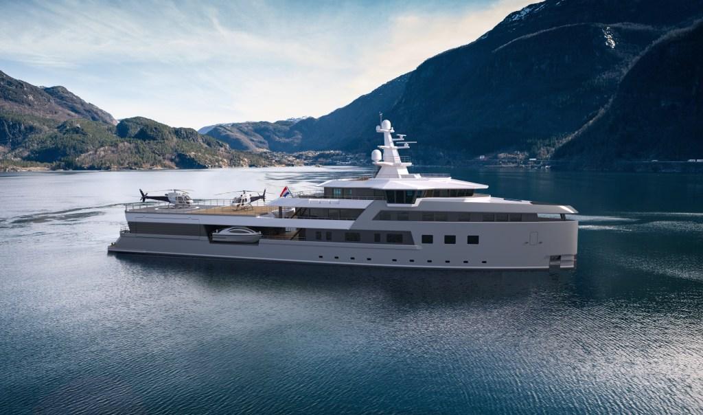 Damen SeaXplorer 75 Explorer Yacht Adventure Dutch