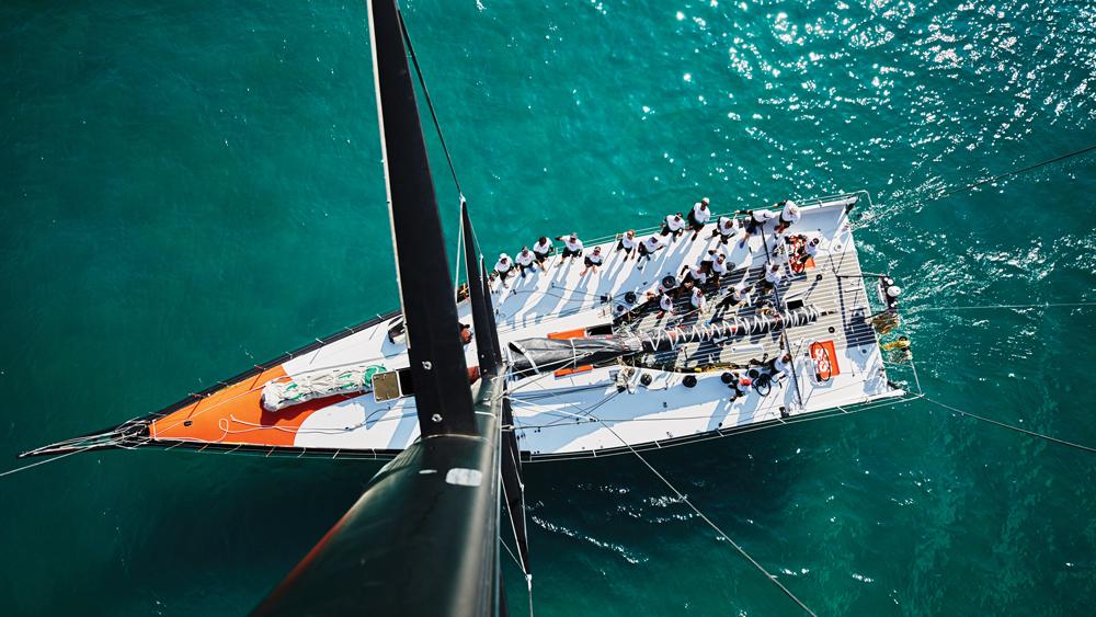 Dream Regatta sailboat