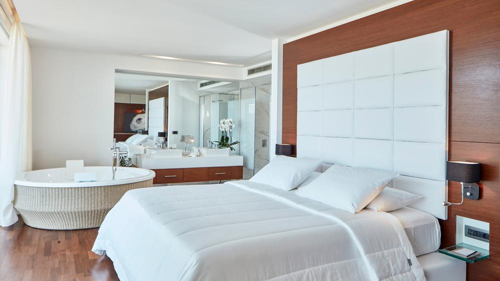 Lestante Blu Exclusive Beach Resort interior of suite.