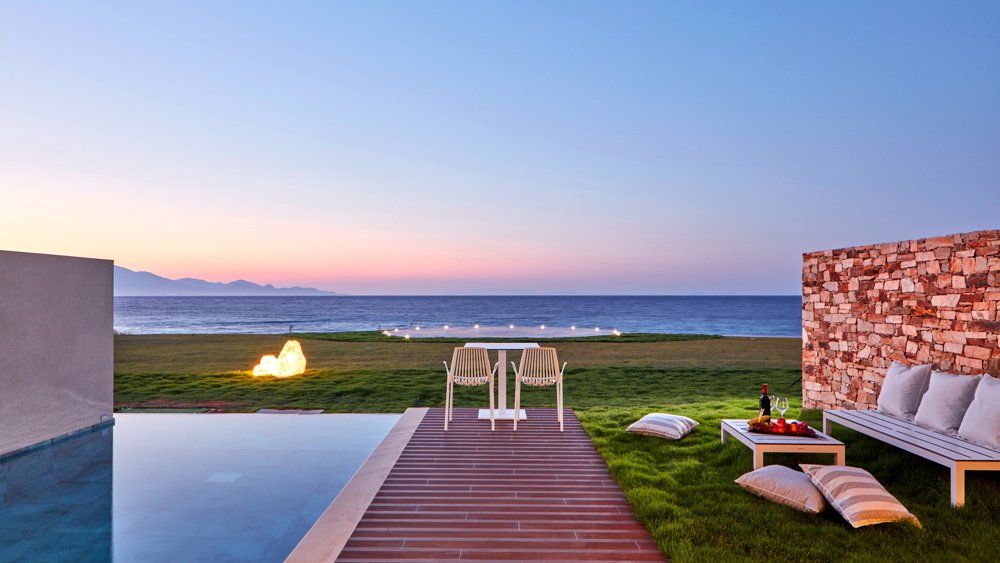 Resort on Zakinthos has 46 swimming pools.