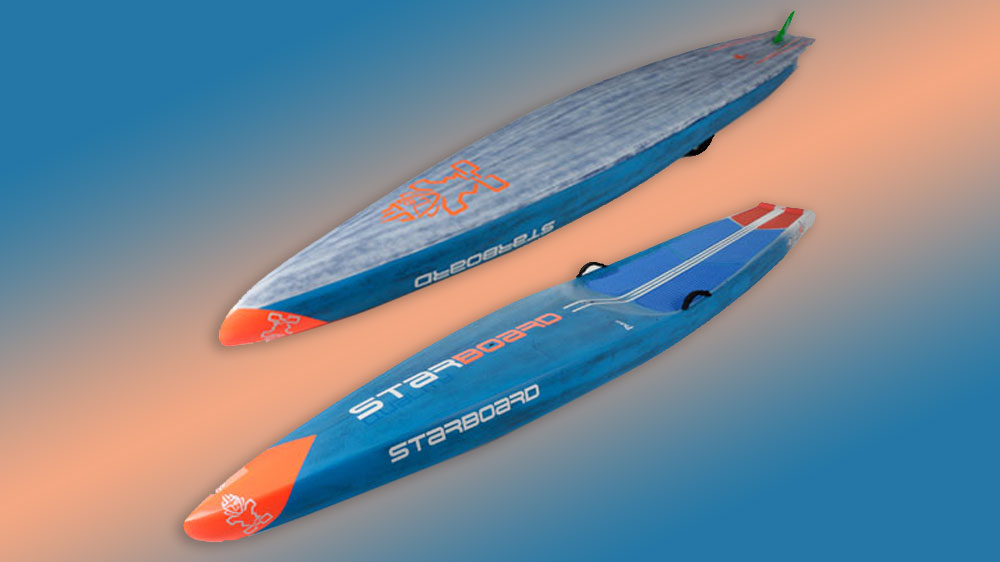 2018 all star stand-up paddle board top and bottom view