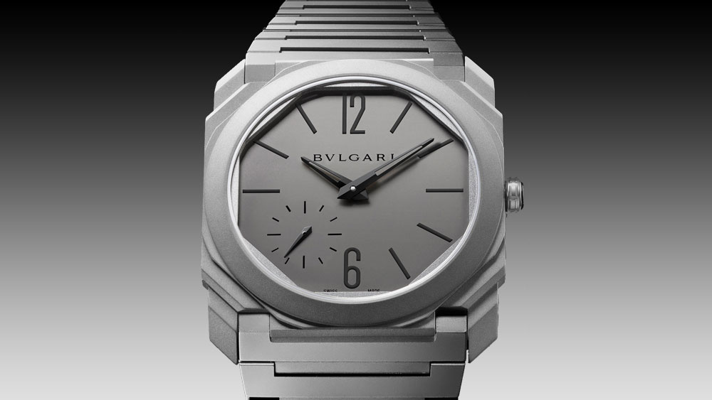 BVLGARI Octo Finissimo Automatic face of watch