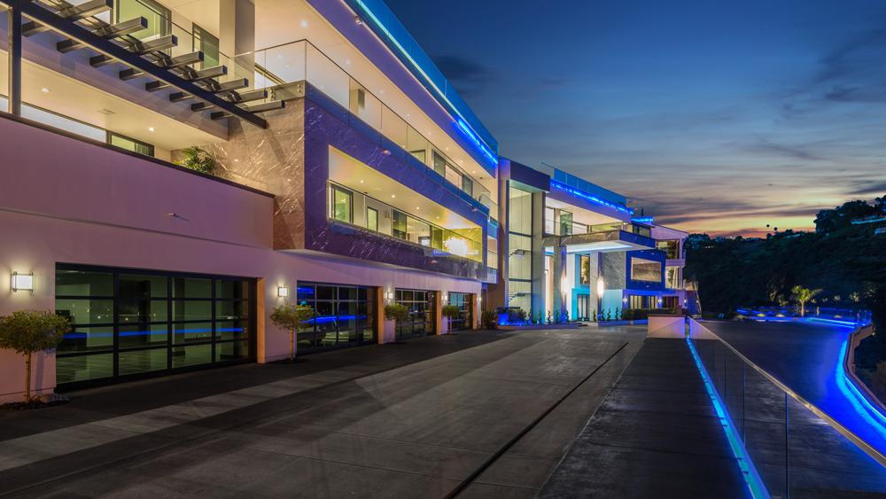 $100 Million Bel-Air Mansion exterior