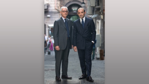 Salvatore and Antonio Ambrosi, owners of Ambrosi Napoli.
