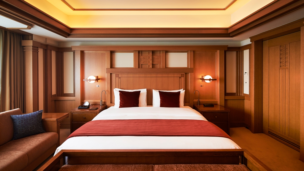 The Frank Lloyd Wright Suite at Japan's Imperial Hotel Tokyo