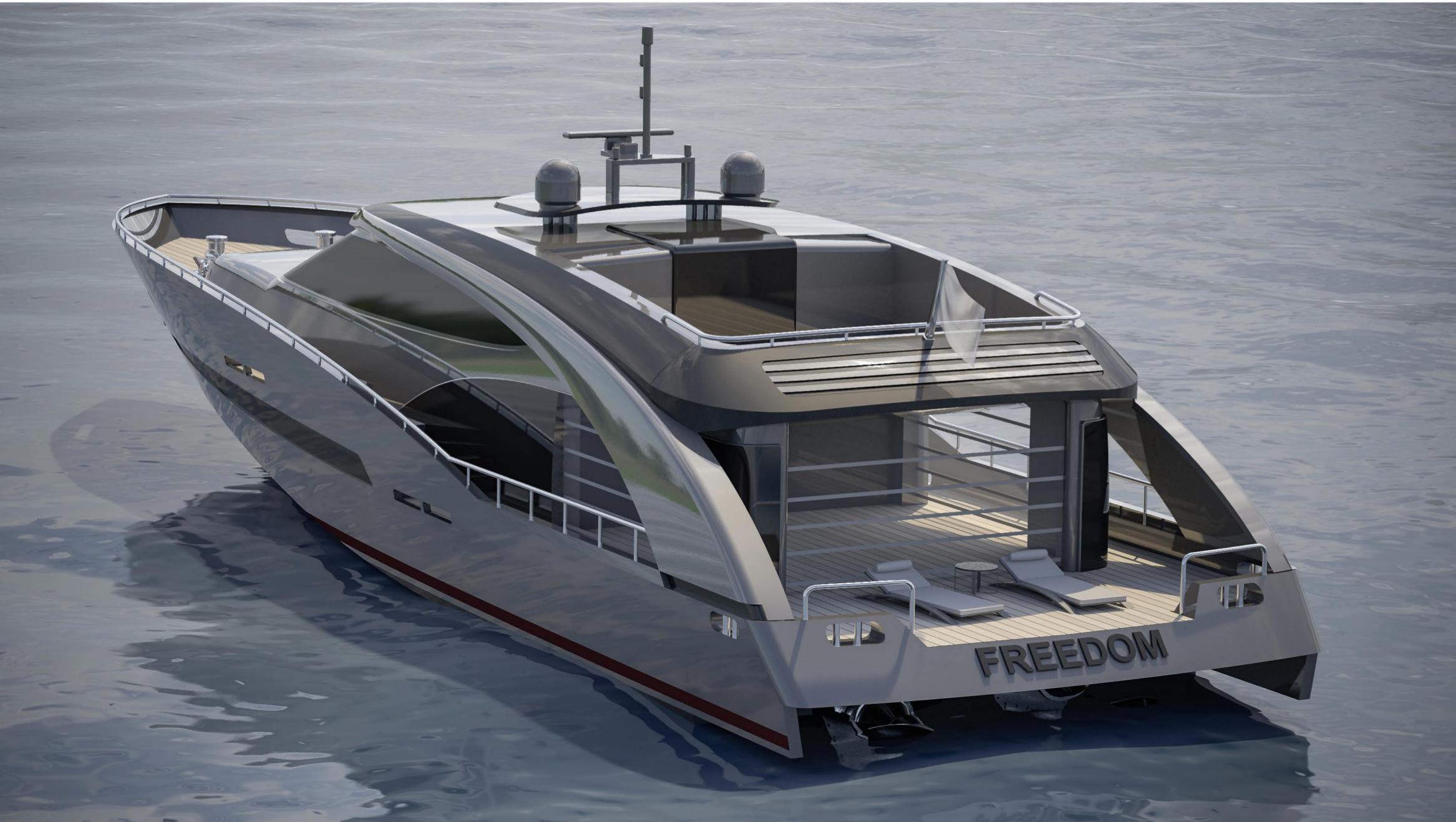 CCN Freedom Yacht Roberto Cavalli