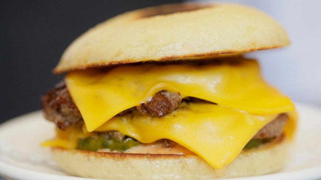 163 Burger from Fuku