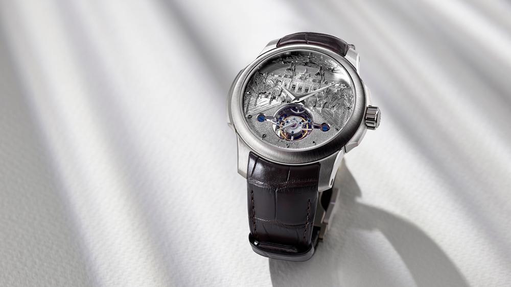 Atelier deMonaco Tourbillon Casino de Monte-Carlo engraved watch